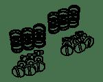Befestigungsmaterial Vespa Ciao | Vespa SI