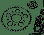 Ketten / Ritzel / Kettenräder