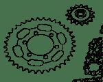 Kette / Ritzel / Kettenräder