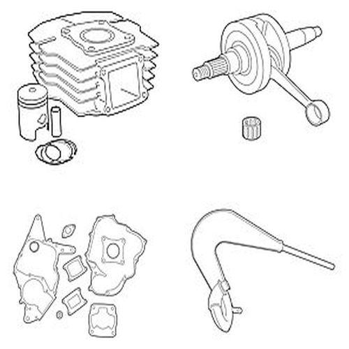 Honda Zylinder, Vergaser, Lager, Auspuffen & Mehr
