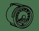 Tachometer / Drehzahlmesser