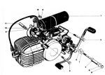 Motorblock Kreidler 5G Indirekt
