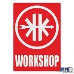 Workshop Aufkleber Kreidler English