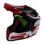 Helm Falcon Weston Cross MT Rot