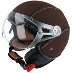 Helme Jet Soul Retro MT Braun