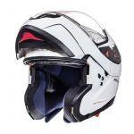 Helm System MT Atom Weiß