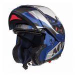 Helm System MT Atom Transcend SV Blau
