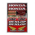 Aufklebersatz Dunlop / Honda