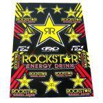 Aufklebersatz FX Rockstar Energy 50X35CM