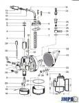 Exploded view bing 17MM